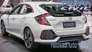 Honda Civic Hatchback Turbo Type E CVT 2018