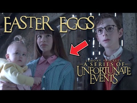 10 Hidden Unfortunate Events Easter Eggs You Probably Missed!