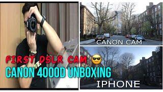 CANON 4000D …