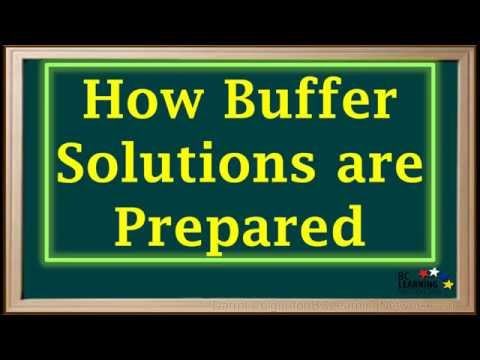 WCLN - Buffer Solutions—Definition And Preparation - Chemistry