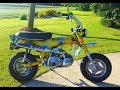 1971 Honda Ct 70 First Ride/Start Up!!!