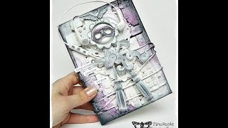 How to make Assemblage Mixed Media Canvas for Finnabair Creative Team