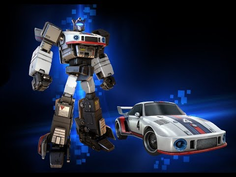 The Evolution of Transformer Toys. Spotlight Jazz.