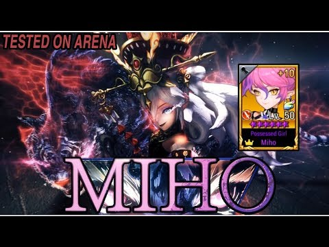 Seven Knights - TESTED AWAKEN MIHO [REVAMP] ON ARENA (Queen Of Tigers)