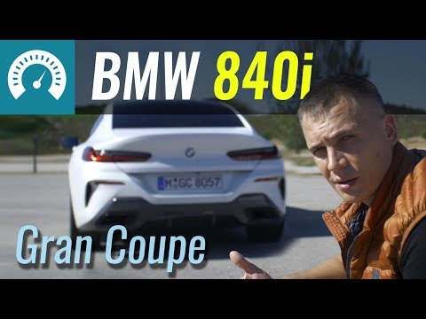 BMW 8 Gran Coupe 840i. Прощай, 6 Series! Тест-драйв БМВ