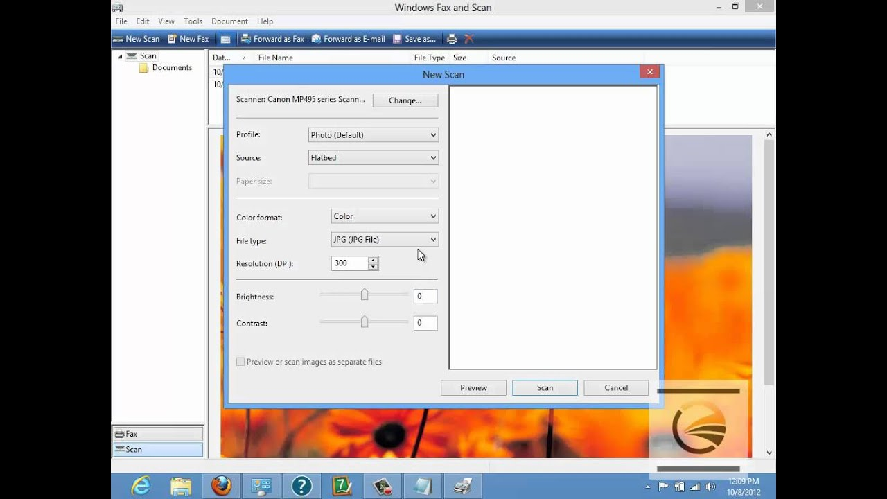 Windows 8 fax and scan - Microsoft Community