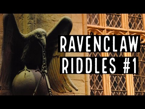 Ravenclaw Riddles #1 | Can You Solve The Riddle To Get Into The Common Room?