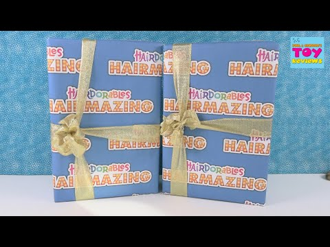 Hairdorables Hairmazing Fashion Doll Surprise Present Opening | PSToyReviews