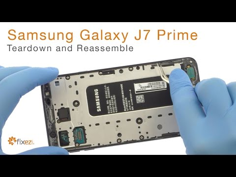 Samsung Galaxy J7 Prime Teardown and Reassemble - Fixez.com
