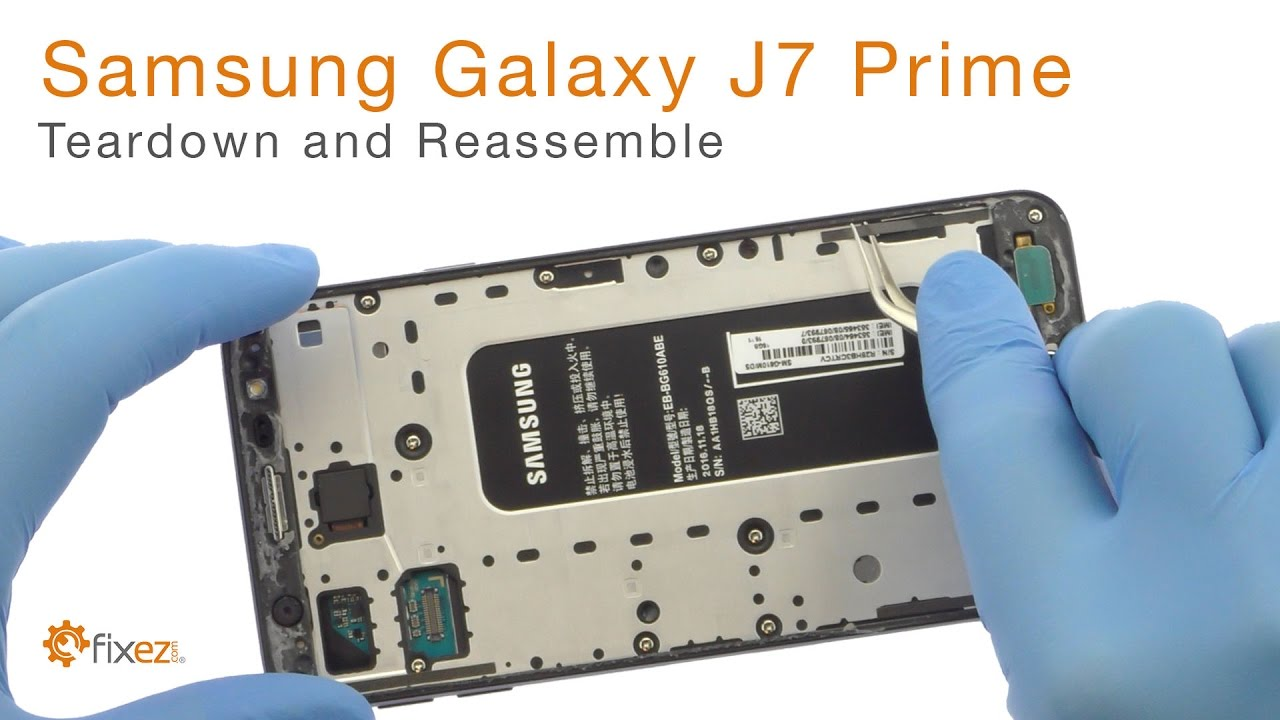 Samsung Galaxy J7 Prime Teardown And Reassemble Fixez Com Youtube