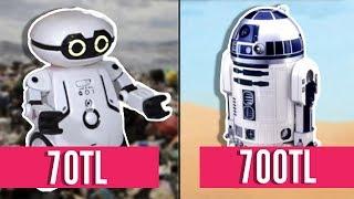 70 TL ROBOT VS. 700 TL ROBOT