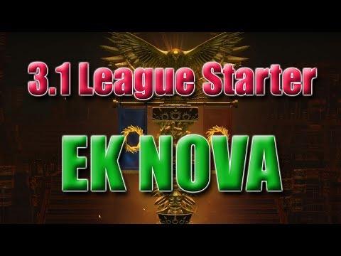 My 3.1 Abyss League Starter! EK NOVA