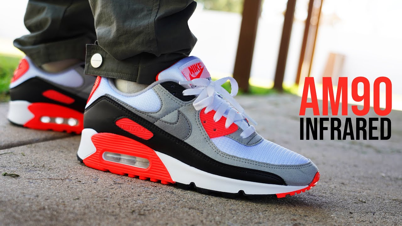2020 Nike Air Max 90 Infrared (Air Max 3 Radiant Red) Review