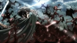 Attack On Titan S3 - Levi Vs Beast Titan「AMV」Legends Never Die
