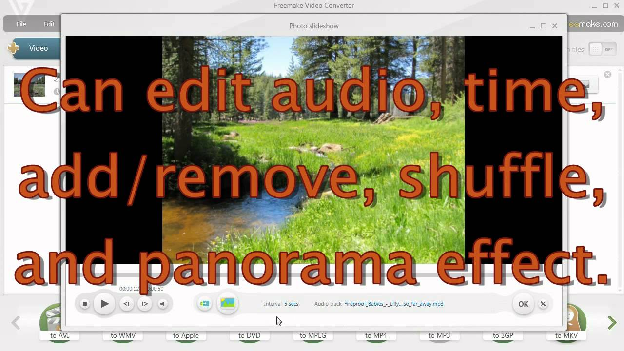 picture slideshow maker with music
