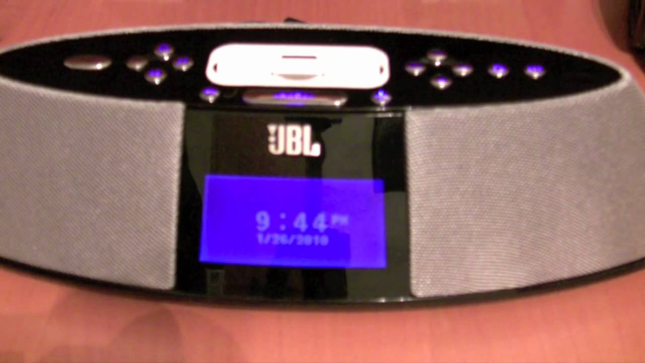 jbl on time 400ihd review youtube rh youtube com JBL Clock Radios JBL Speakers