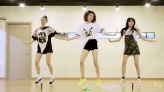 Orange Caramel - My Copycat - mirrored dance practice video - 오렌지캬라멜 나처럼해봐요