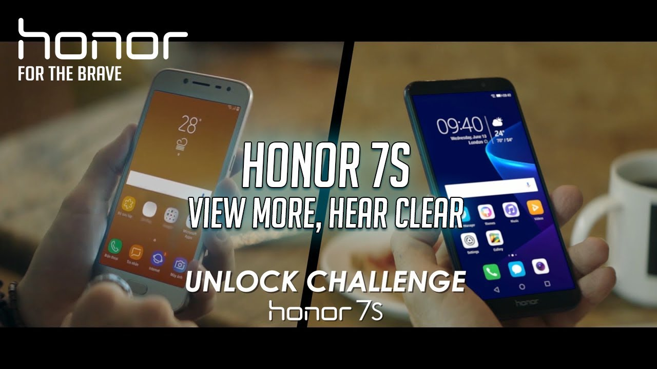 Honor 7S 16GB Gold 4G Dual Sim Smartphone