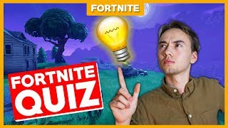 WHAT DO I KNOW ABOUT FORTNITE??? -Fortnite Quiz