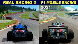 Real Racing 3 vs F1 Mobile Racing 2021 - Graphics Comparison screenshot 3