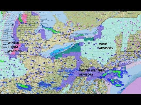 FRIGID AIR WINTER WEATHER ADVISORY WINTER STORM WARNING COASTAL STORM FOR NEW YEAR?