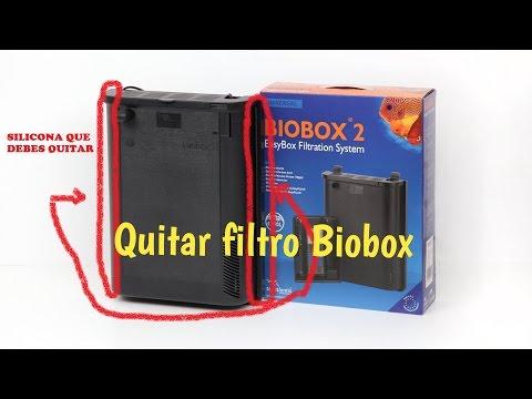 COMO QUITAR FILTRO BIOBOX (CUALQUIERA) FÁCIL Y RÁPIDO! |HD|