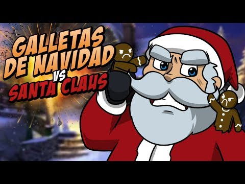¡SANTA CLAUS ME QUIERE COMER! ⭐️ Cookies VS Claus | iTownGamePlay