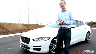 Jaguar XE 2016 Review Indonesia - OtoDriver (Part 1/2) (English Subtitled)