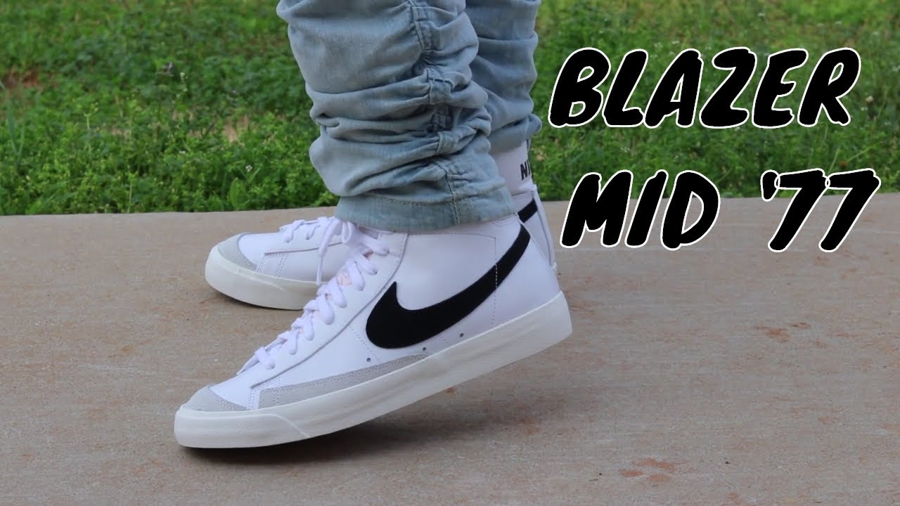 NIKE BLAZER MID 77 REVIEW + ON FOOT!!!