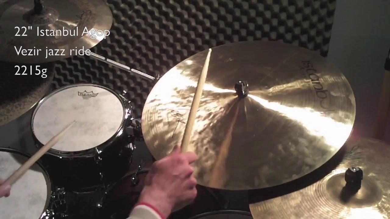 ride cymbal video blog 26 22 istanbul agop vezir jazz ride 2215g youtube. Black Bedroom Furniture Sets. Home Design Ideas