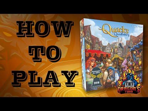 How To Play - The Quacks Of Quedlinburg
