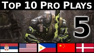 Dota 2 Top 10 Pro plays 5 - GAME WINNING PLAYS !