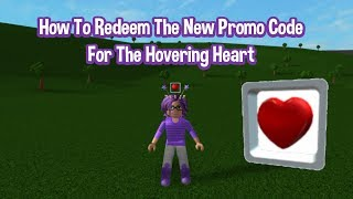How To Redeem The New Promo Code Hovering Heart   Roblox May 2019