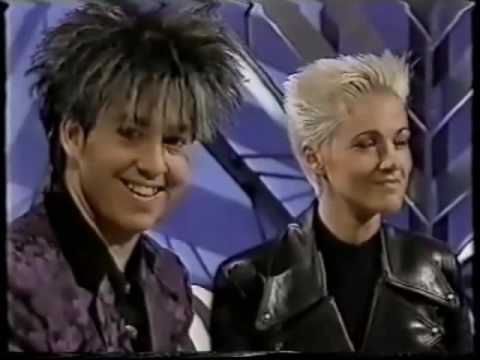 Roxette presenting the Joyride album -Caramba Swedish TV show 1991