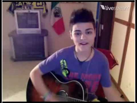 Abraham Mateo What Makes You Beautiful One Direction Twitcam Youtube
