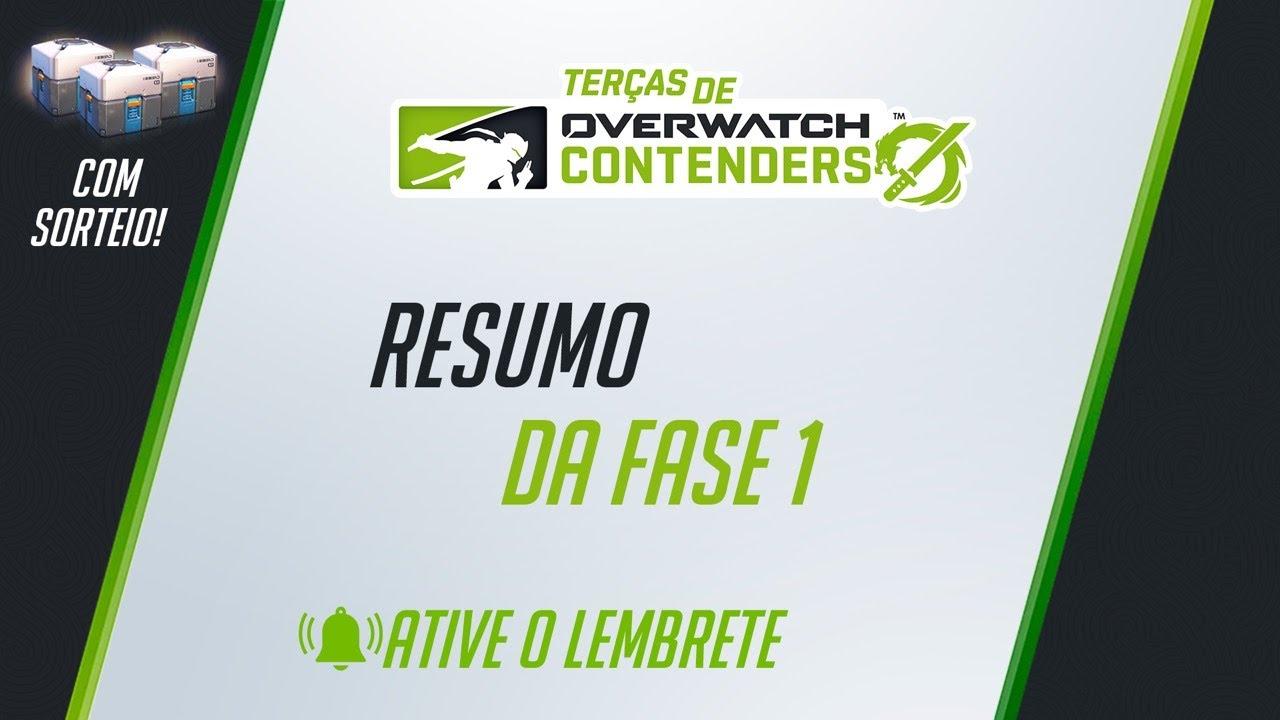 Terças de Contenders    Temporada 2   SORTEIO NO FINAL DA TRANSMISSÃO