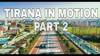 TIRANA IN MOTION Part 2, NEW BOULEVARD EXTENSION - Bulevardi i Ri i Tiranës | Vlog #009