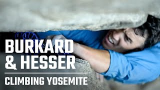 Chris Burkard + Ted Hesser Offwidth Climbing Shoot in Yosemite   BTS