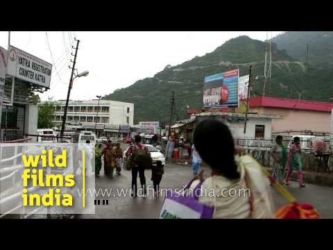 Shopping streets of Katra - Jammu