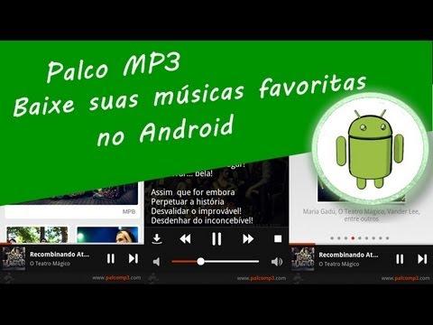 """Baixe suas músicas favoritas com o """"Palco MP3"""" Android"""