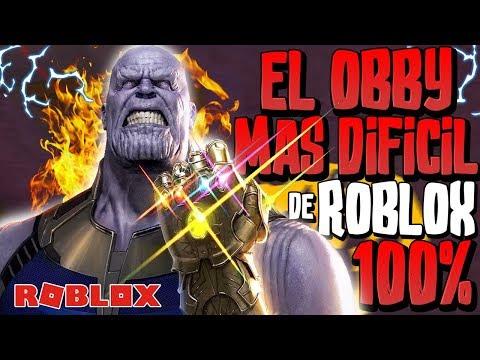 LA TORRE DE THANOS 🔥 EL OBBY MAS DIFICIL DE TODO ROBLOX | 100% CONFIRMED