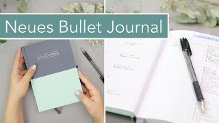 Neues Bullet Journal – Setup: Future Log, Monthly Spread, Wochenübersicht