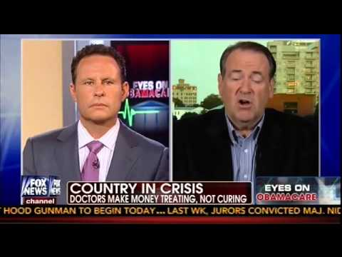 Huckabee's Alternative To Obamacare: The GOP Should Cure Cancer