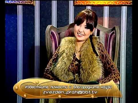 Nelly Radeva guest in Bulgarian TV BBT - 30 Oct 2011