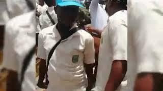 Opoku Ware School students dances to some #jama tunes at #sizo. #music #highschool #dance #shs
