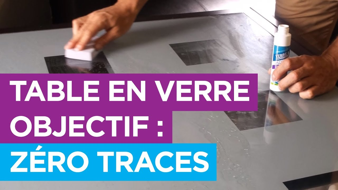 Protege Table En Verre Traitement Innovant Une Table En Verre Sans Traces Traitement Nanoprotection