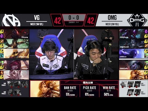 【LPL春季賽】第8週 OMG vs VG #1