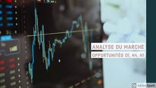 Forex Trading Stratégie: Analyse du marché du 14 Janvier 2019  (Opportunités de trade D1, H4, H1)