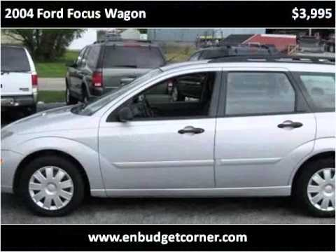 2004 ford focus wagon used cars fort wayne in youtube. Black Bedroom Furniture Sets. Home Design Ideas