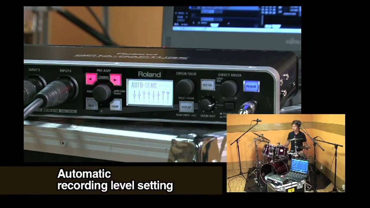 Roland - OCTA-CAPTURE   Hi-Speed USB Audio Interface